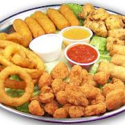Veggie appetizer platter