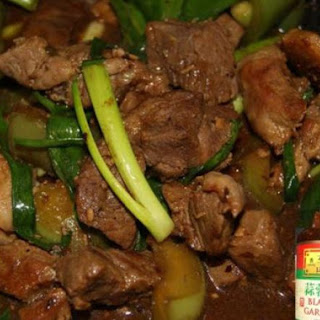 Black Bean Pork