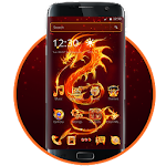 Fire Dragon Theme icon