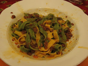 Photo: Tagliatelle with Traditional Bolognese Ragu