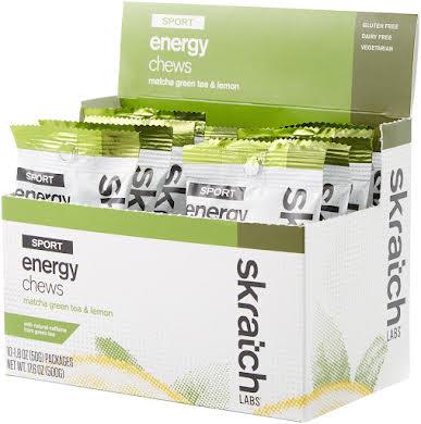 Skratch Labs Sport Energy Chews: Matcha Green Tea and Lemon, Box of 10 alternate image 0