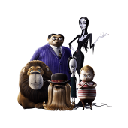The Addams Family Wallpapers Tab