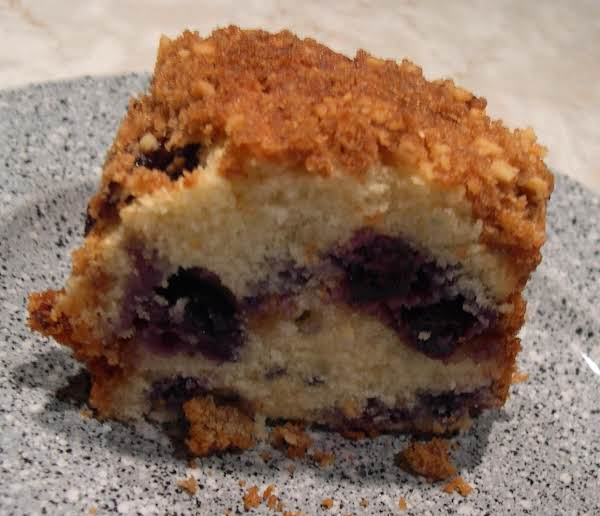 Blueberry Crunch Cake Recipe