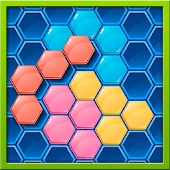 Hexa Mania - 2MB perfect tangram style puzzle game