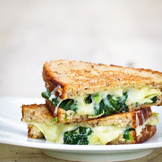 Spinach Artichoke Grilled Cheese.