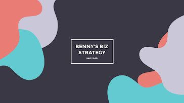 Benny's Biz Strategy - YouTube Channel Art Template