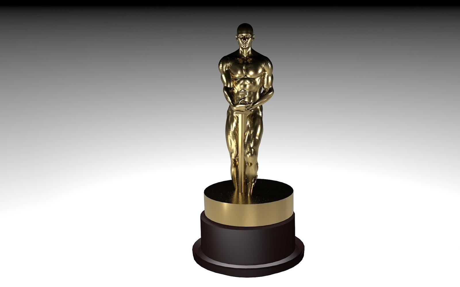 An Academy Award statue