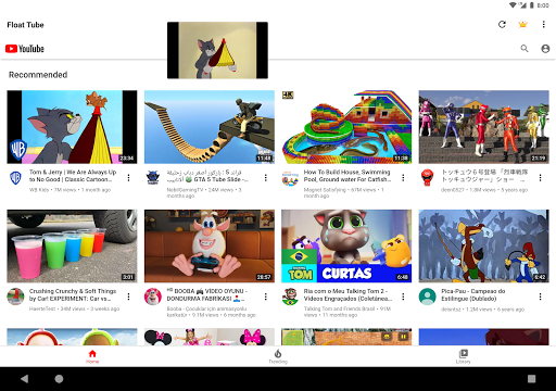Float Tube-Few Ads, Floating Player, Tube Floating 1.5.18 screenshots 12