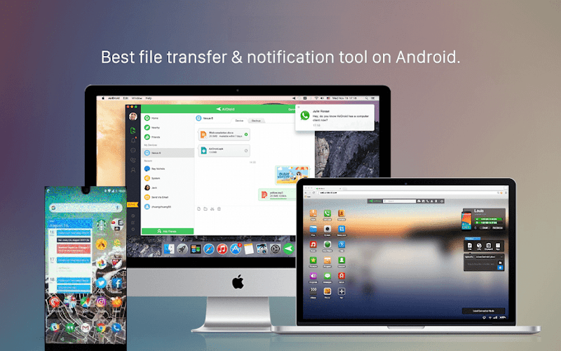 Download AirHandshaker-pro-Air Remote access & File sharing APK