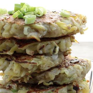 Vegan Potato Pancakes.
