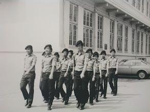 Photo: 1975年10月29日紅十字會步操02