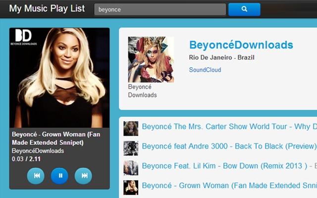 Music Play List - Chrome Web Store