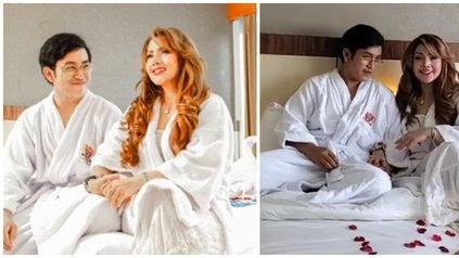 9 Potret Mesra Barbie Kumalasari & Kekasihnya di Atas Ranjang, Dihujat Netizen Dibilang Mirip Supir Pribadi - KapanLagi.com