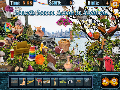 Hidden Objects Alcatraz Escape screenshot 6