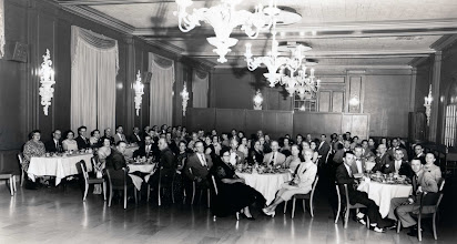 Photo: State Convention National League District PostMasters Penn Alto Hotel Logan Room June 1954
