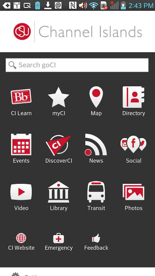 goCI - screenshot