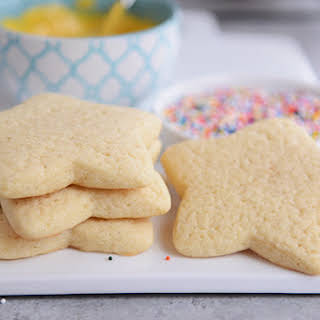 Soft Sour Cream Sugar Cookies.