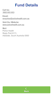 Police Health Mobile Claims- screenshot thumbnail