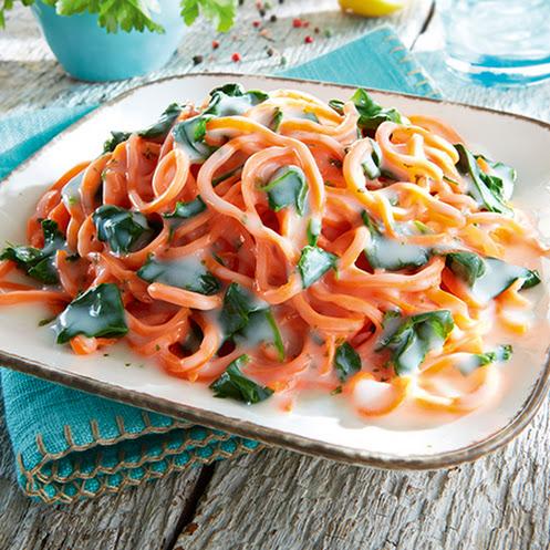 Abbildung Karottennester Käse-Sahne