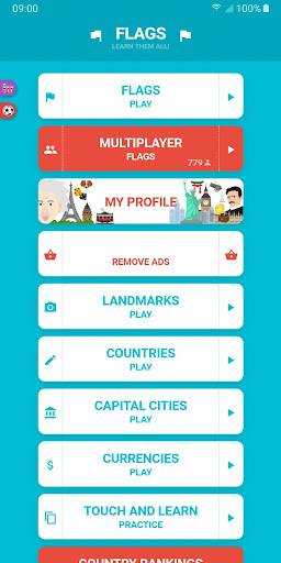 Flags and Capitals of the World Quiz 1.8.13 APK MOD screenshots 1