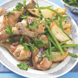 Roast Chicken with Parsley Salad