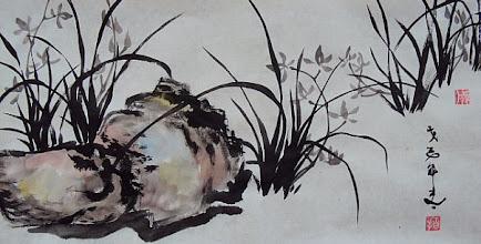 Photo: Живопись Виталия Близнецова. Орхидеи