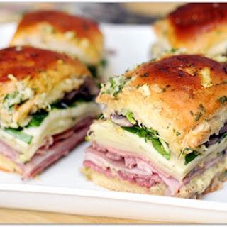Deli Sandwich Style Sliders.