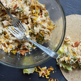 Jalapeño Popper Chicken Salad.