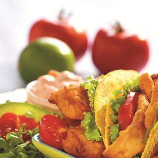 Crispy Fish Tacos.