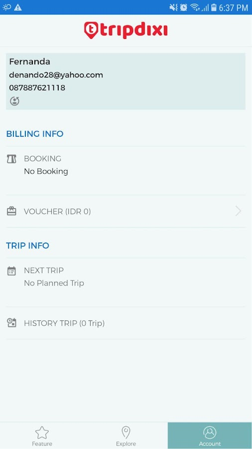 Tripdixi Indonesia trip booking & tourism village- screenshot