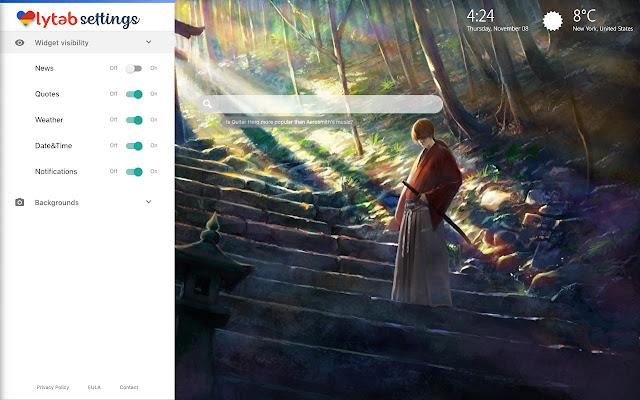 Rurouni Kenshin Wallpapers New Tab