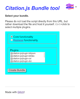 Bundle tool screenshot