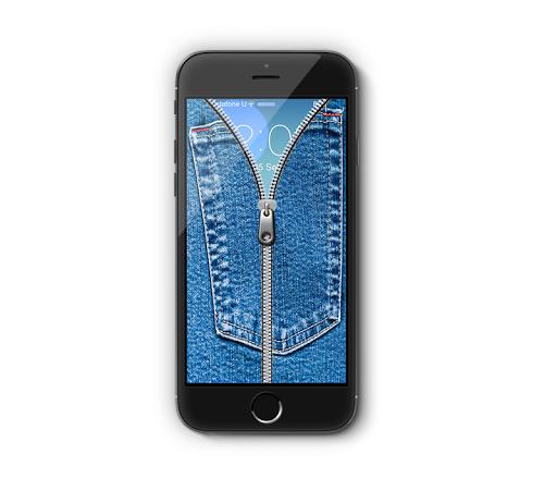 Jeans Zipper Lock