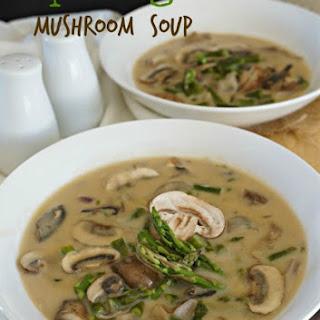 ASPARAGUS MUSHROOM SOUP