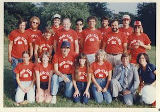Photo: PE Softball - 1981
