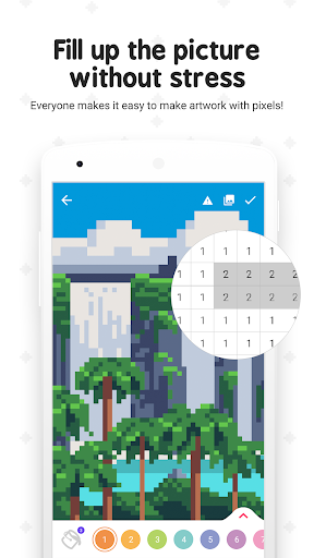 Pixel ColorFil: Color by Number screenshots 2