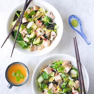Green Sushi Salad.