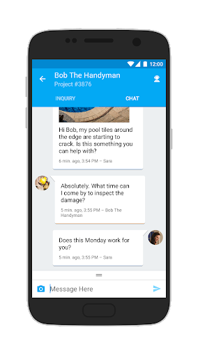 Service Chat by Service.com Screenshot