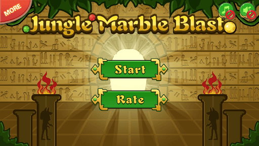 Jungle Marble Blast screenshot 12