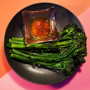 Grilled Broccolini (VEGAN option available)