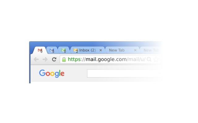Gmail Color Favicon