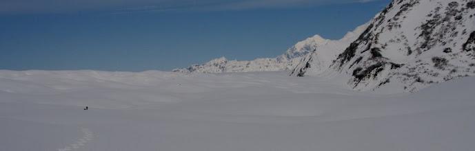Photo: Malaspina Glacier - close to Seward Glacier