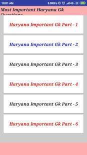 Download Haryana Gk 2019-20 For PC Windows and Mac apk screenshot 2