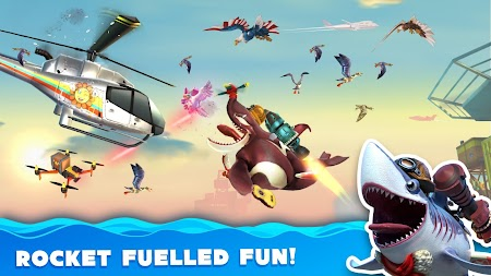 Hungry Shark World APK screenshot thumbnail 8