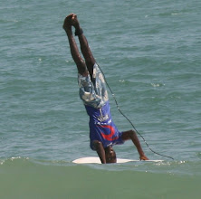 Photo: surf, Busua Beach, Ezile bay village, west coast, Ghana