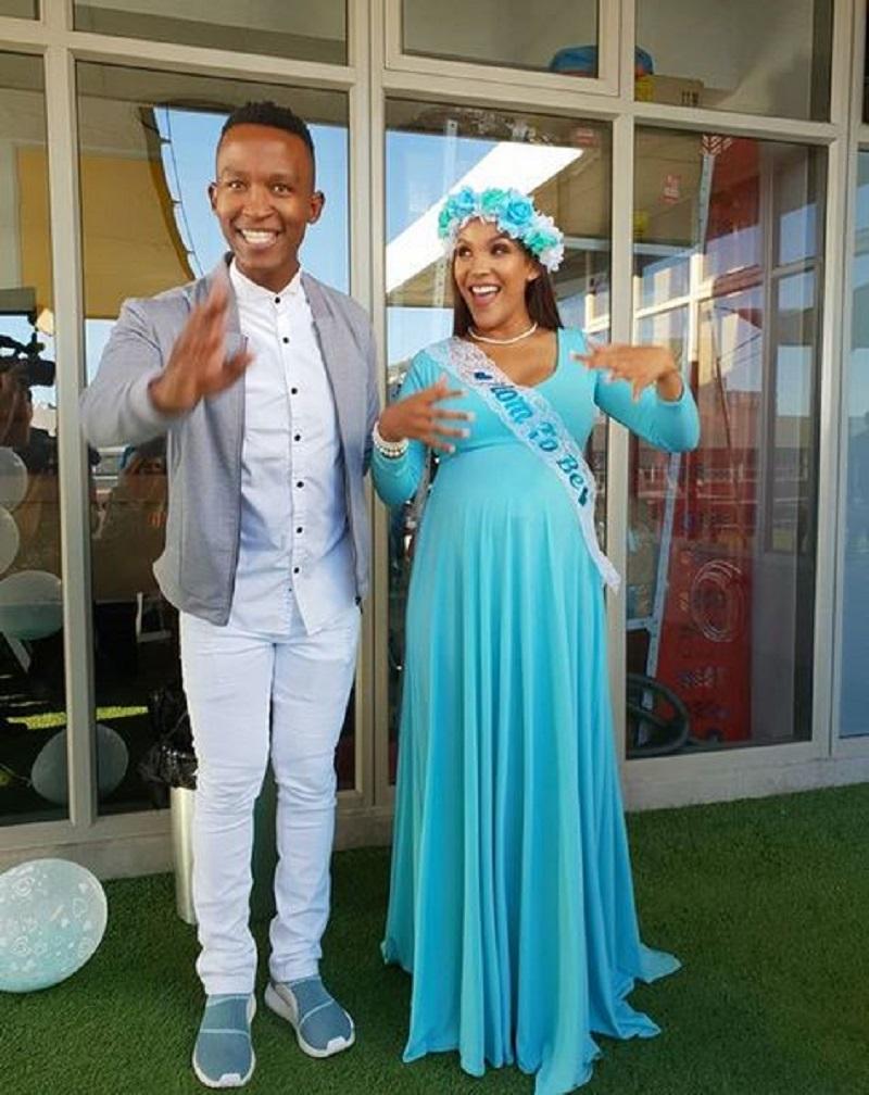 Katlego Maboe welcomes baby boy
