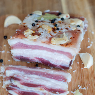Cured Pork Fat (Salo).
