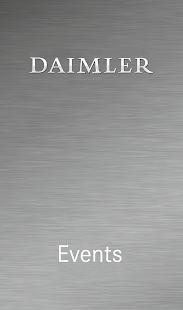 Daimler Event App - náhled