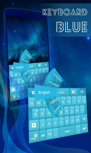 Keyboard Theme Blue