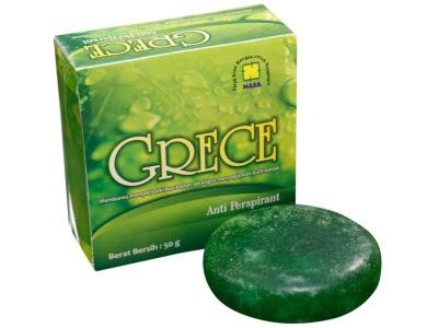 Sabun Grece Nasa asli grace Body Crystal Anti Perspirant Alami mengatasi bau badan bau kaki ketiak
